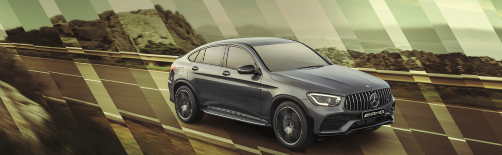 The all-new Mercedes-AMG GLC 43 4MATIC Coupé